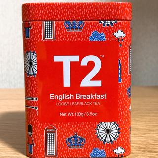 【未開封】T2 tea ティーツー 紅茶 イングリッシュブレックファスト(茶)