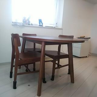 フランフラン(Francfranc)のフランフラン☆ダイニングテーブル☆チェア✖️3(ダイニングテーブル)