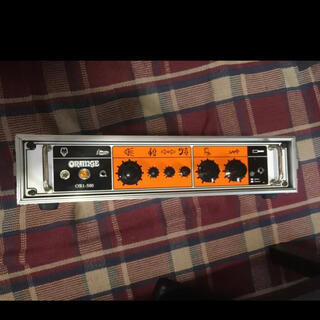 orange OB1-500 アンプヘッド DUPLEXラック付