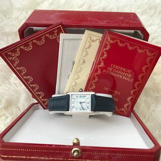 Cartier - 保証書あり‼️✨美品 カルティエ マストタンク 腕時計 SM