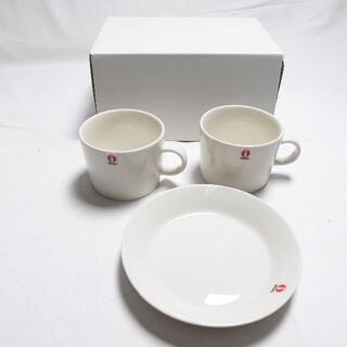 イッタラ(iittala)の[iittala] ペアマグカップ ホワイト(グラス/カップ)
