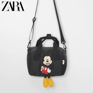 ZARA - 新品 ZARA ディズニーボストンバッグ ショルダーバッグ 2way タグ付き