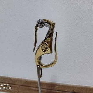 レッドムーン(REDMOON)のRED MOON BRASS レッドムーン 真鍮 S字フック キーホルダー(キーホルダー)