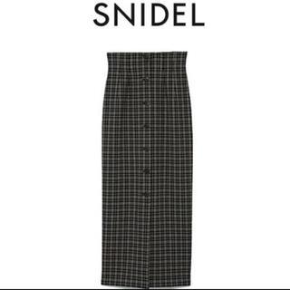snidel - SNIDEL フロントボタンタイトスカート