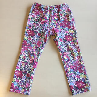 hakka kids - ハッカキッズ  hakka kids 120 パンツ ズボン 花柄 ピンク