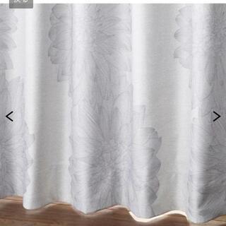 ニッセン(ニッセン)のフラワー柄遮熱・防音・1級遮光カーテン(カーテン)