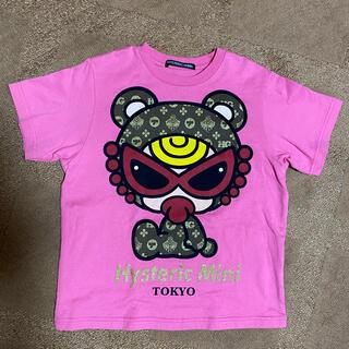 HYSTERIC MINI - ②モノグラムキラキラテディTシャツ