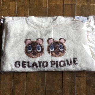 gelato pique - 新品未開封 ジェラートピケ あつ森 つぶまめジャガード トップス