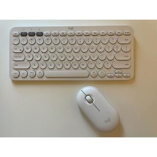 Logi US配列キーボード マウスセット(PC周辺機器)