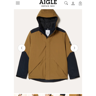 エーグル(AIGLE)のAIGLEメンズダウンジャケット(ダウンジャケット)