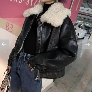 スタイルナンダ(STYLENANDA)の韓国ファッション♡レザージャケット(レザージャケット)