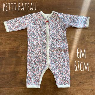 PETIT BATEAU - プチバトーのロンパース✴︎6m/67cm