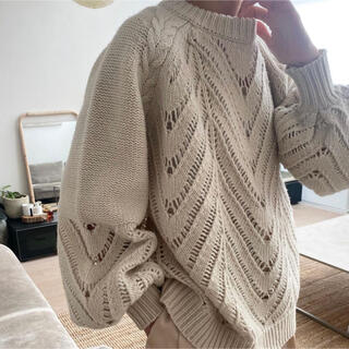 STUDIOUS - CLANE  OPENWORK CABLE KNIT