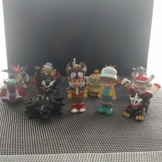 デジモンアドベンチャー指人形 13体(キャラクターグッズ)
