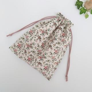 リバティ巾着袋(外出用品)