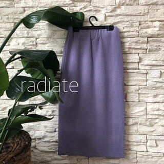 SCOT CLUB - 新品1万★radiate シンプルこなれ美脚スカート