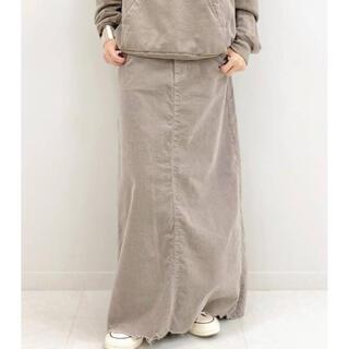 DEUXIEME CLASSE - Deuxieme Classe SURT コーデュロイ マキシ スカート