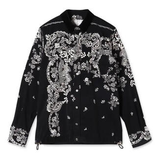 sacai - sacai floral shirt シャツ 19aw