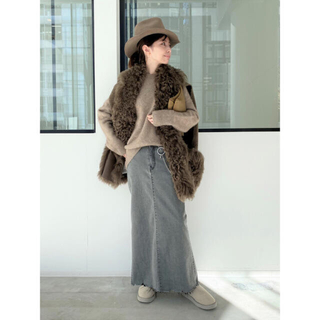 L'Appartement DEUXIEME CLASSE - L'Appartement【GOOD GRIEF】DENIM LONG スカート