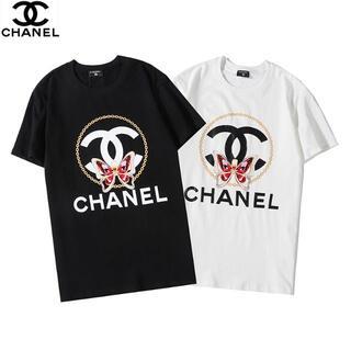 CHANEL - CHANEL/ロゴ/プリント/310シャネルTシャツ 半袖2枚8000円