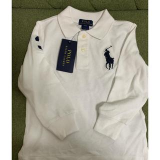POLO RALPH LAUREN - 〔タグ付き〕ラルフローレン長袖ポロシャツ(3T)