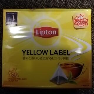 ユニリーバ(Unilever)のリプトン イエローラベル ティーバッグ 50包 新品未開封 送料無料(茶)