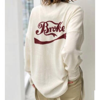 L'Appartement DEUXIEME CLASSE - 新品☆GOOD GRIEF Cashmere Logo KnitPullover