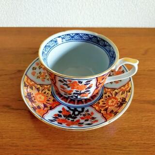 有田焼 焼き物 金襴 古伊万里 極上 陶器 和食器 ペアコーヒーカップ&ソーサー