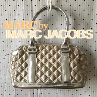 マークバイマークジェイコブス(MARC BY MARC JACOBS)のMARCマークジェイコブス US限定 キルティング パール ボストン バッグ(ボストンバッグ)