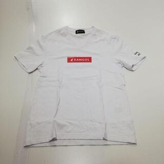 カンゴール(KANGOL)のKANGOL NCFM Vネック半袖Tシャツ 白 サイズ:46(Tシャツ/カットソー(半袖/袖なし))