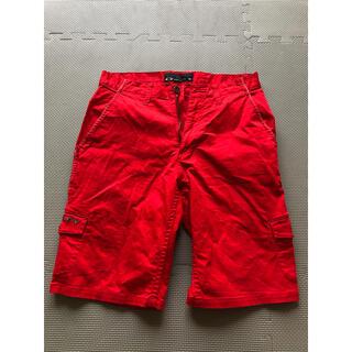 オークリー(Oakley)のゴルフウェア OAKLEY赤いズボン(ショートパンツ)