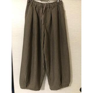 サマンサモスモス(SM2)のバルーン裾タックパンツ(カジュアルパンツ)