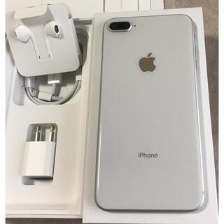 Apple - iPhone 8plus 256GB SILVER SIMフリー【美品】本体のみ