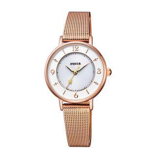 CITIZEN - シチズン ウィッカ KP3-465-13 ピンクゴールド 腕時計 ソーラーテック