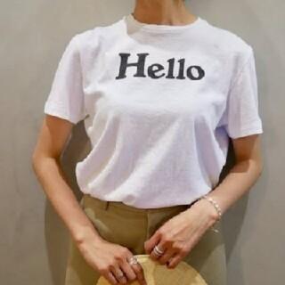MADISONBLUE - 新品 マディソンブルー ハロー Hello T ホワイト