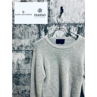 junhashimoto - 【レア】別注 ジュンハシモト×ナノユニバース コラボ ニット セーター 完売品