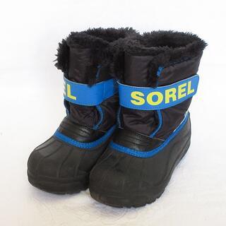 SOREL - SOREL ソレル チルドレンスノーコマンダー 18cm キッズ 子供用 ブーツ