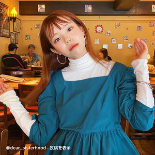 エイミーインザバッティーガール(Aymmy in the batty girls)の【dear sisterhood】Meet Me at Cafe Ribbon(シャツ/ブラウス(長袖/七分))
