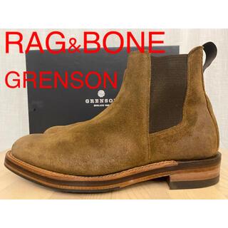 サンダース(SANDERS)の新品 ラグ&ボーン グレンソン スエード サイドゴアブーツ チェルシーブーツ(ブーツ)