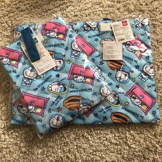 新品★ ドラえもん 手提げカバン シューズ袋 セット(レッスンバッグ)