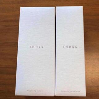 スリー(THREE)の【新品】three バランシングローション  エマルジョン (化粧水/ローション)