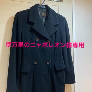 フェンディ(FENDI)のフェンディ FENDI コート ブラック サイズ38(ロングコート)