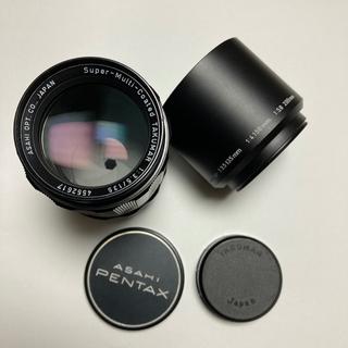ペンタックス(PENTAX)の良品 M42 SMC TAKUMAR 135mm F3.5 純正付属多数(レンズ(単焦点))