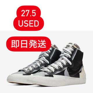 NIKE - Nike Sacai blazer mid 27.5
