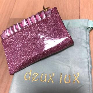 デュラックス(deux lux)のデュラックス Deux lux 財布 カードケース 小銭入れ ピンク(財布)