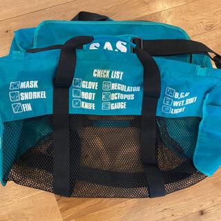 エスエーエス(SAS)のSAS ダイビングバッグ メッシュ グリーン(マリン/スイミング)