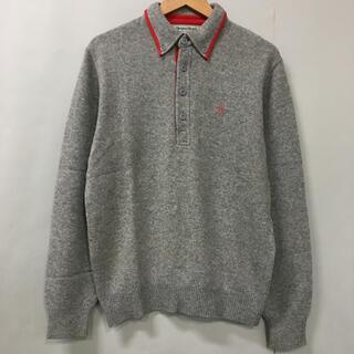 マンシングウェア(Munsingwear)のマンシングウェア Munsingwear 長袖 セーター ニット ロゴ 刺繍 (ニット/セーター)