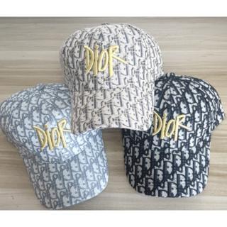 キャップ3色帽子男女兼用☆ディオール Dior☆2枚10000円送料込み229