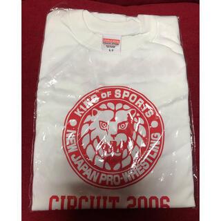 新日本プロレスTシャツ Lサイズ