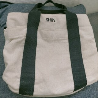 SHIPS - SHIPS キャンバストート 激安